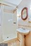 Lower level full bath - 3903 BELLE RIVE TER, ALEXANDRIA
