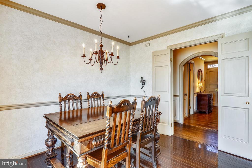 Charming interior - 3903 BELLE RIVE TER, ALEXANDRIA