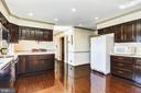 Spacious eat-in kitchen with recessed lights - 3903 BELLE RIVE TER, ALEXANDRIA
