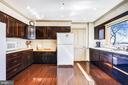 Baking nook, and much cabinet and countertop space - 3903 BELLE RIVE TER, ALEXANDRIA