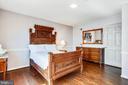 Bedroom 4. Hardwood floors throughout upper level - 3903 BELLE RIVE TER, ALEXANDRIA