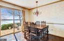 Breakfast area in kitchen has breathtaking views - 3903 BELLE RIVE TER, ALEXANDRIA