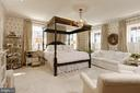 Luxurious master suite w/4 windows & wood shutters - 711 PRINCE ST, ALEXANDRIA