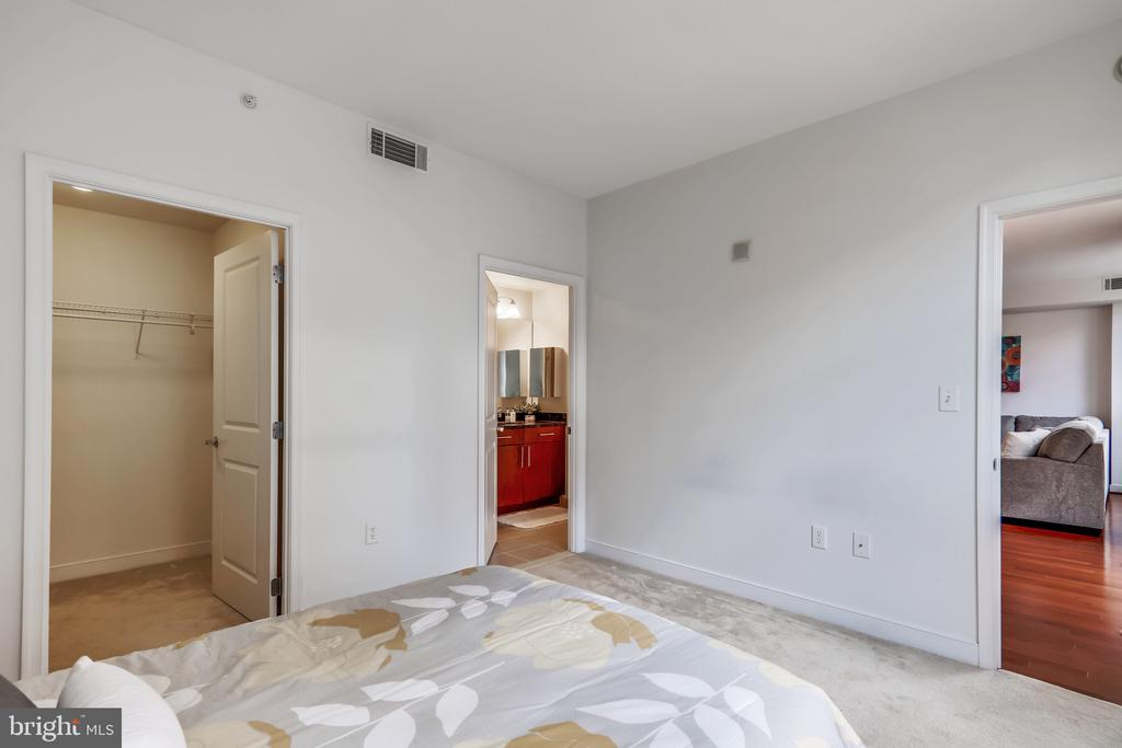 Private Entry to Bathroom off Bedroom - 157 FLEET ST #413, NATIONAL HARBOR