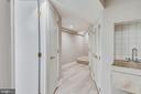 Hall on Lower Level - 4206 MOUNT VERNON MEMORIAL HIGHWAY, ALEXANDRIA
