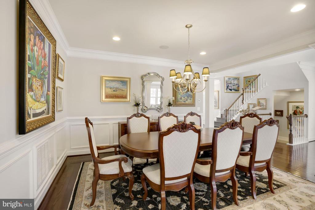 Large Dining Room - 10286 GREENSPIRE DR, OAKTON
