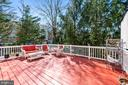 Large Deck - 20757 BREEZY POINT TER, STERLING