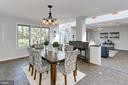 Large dining room addition - 6802 GLENMONT ST, FALLS CHURCH