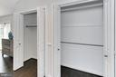 Multiple closets in master bedroom - 6802 GLENMONT ST, FALLS CHURCH