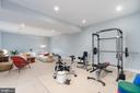 Renovated Basement with Gym Area - 3179 17TH ST N, ARLINGTON