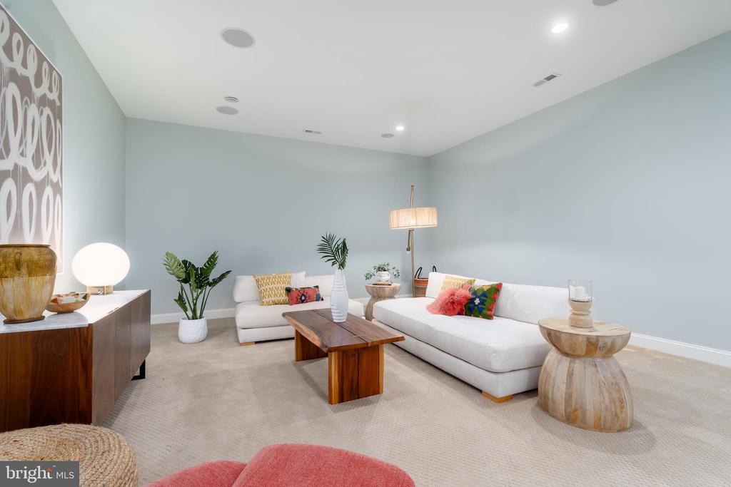 Basement Living Space - 3179 17TH ST N, ARLINGTON
