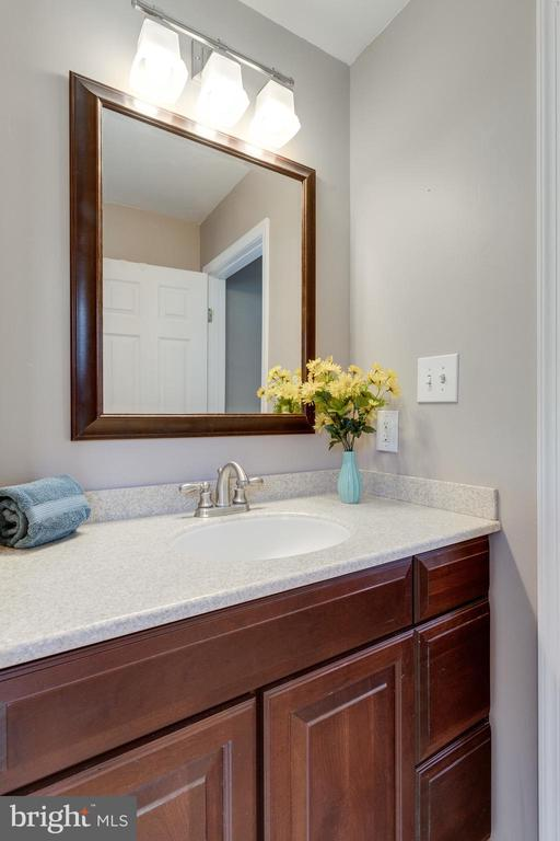 Renovated Master Bathroom - 9107 ROOKINGS CT, SPRINGFIELD