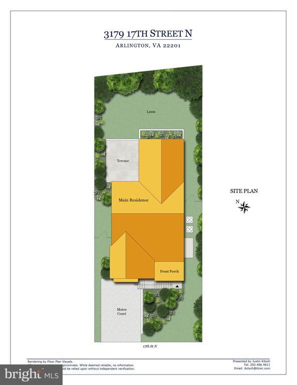 Site Plan - 3179 17TH ST N, ARLINGTON