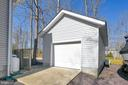 Separate garage perfect for hobbies or a vehicle - 1106 LAKEVIEW PKWY, LOCUST GROVE