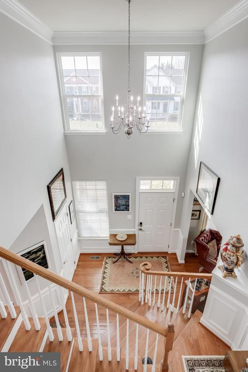 View of entry foyer - 113 MAROON CT, FREDERICK