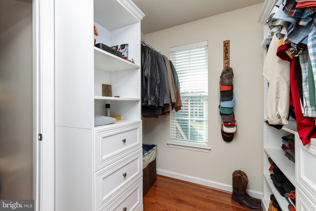Second of two primary bedroom walk-in closets - 113 MAROON CT, FREDERICK