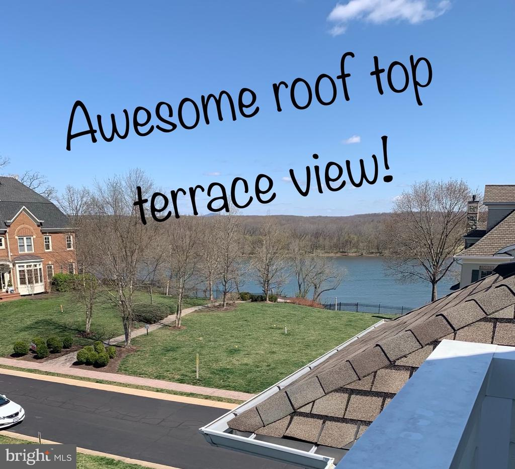 Fabulous views from the Main bedroom suite & roof - 18359 EAGLE POINT SQ, LEESBURG