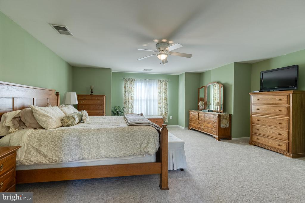 Ceiling fans in all upper level bedrooms - 33 BISMARK DR, STAFFORD