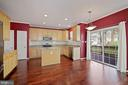 Kitchen features SS appliances, maple cabinets - 1306 MONROE ST, HERNDON