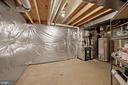 Huge storage room with shelving - 1306 MONROE ST, HERNDON