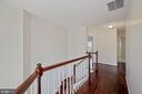 Another view of upper level hall - 1306 MONROE ST, HERNDON