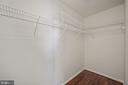 Second walk in closet w/attic access - 1306 MONROE ST, HERNDON