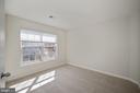 Large back bedroom adjoins hall bath - 1306 MONROE ST, HERNDON