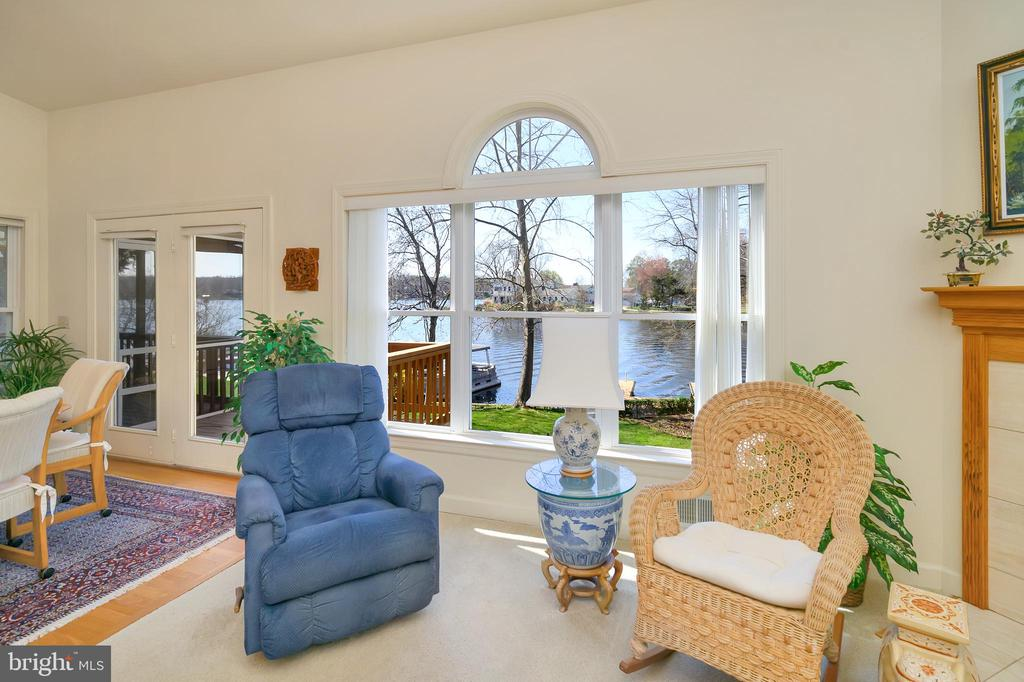 Look at that gorgeous view of the lake! - 112 WOODLAWN TRL, LOCUST GROVE