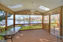 Enjoy the summers relaxing in your screened porch - 112 WOODLAWN TRL, LOCUST GROVE