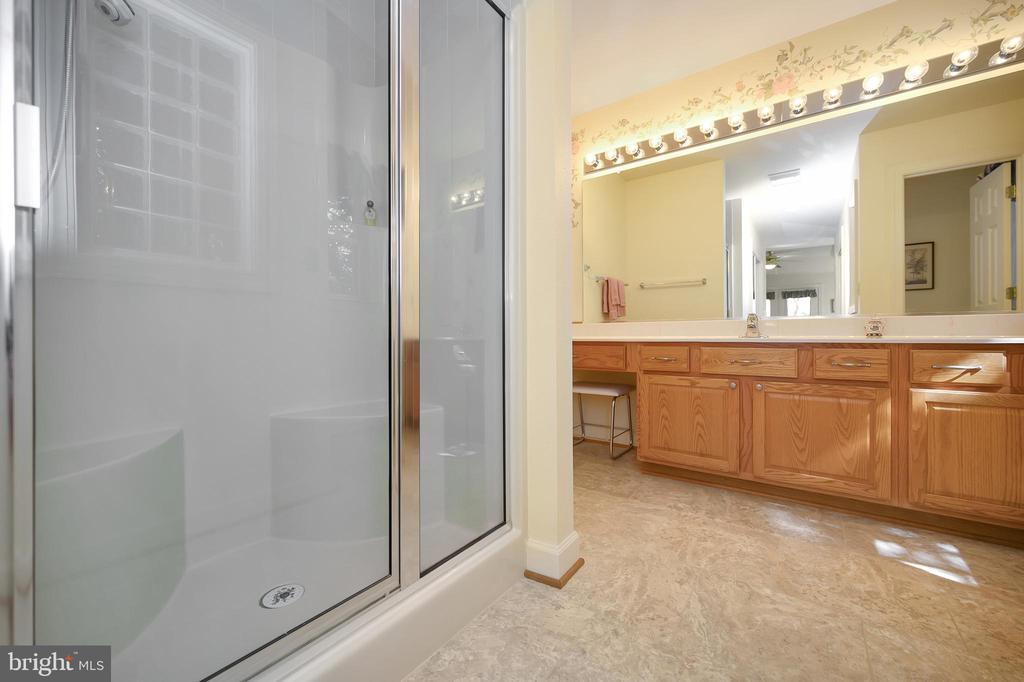 Owner's bath offers all the amenities - 112 WOODLAWN TRL, LOCUST GROVE