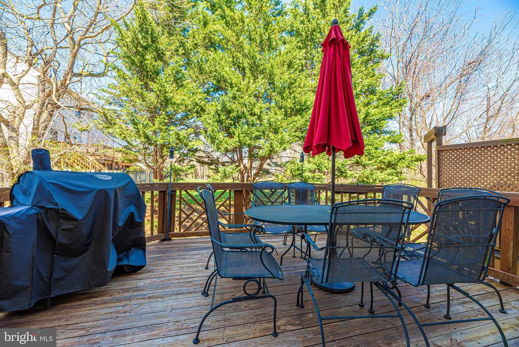 Deck for family get togethers - 7147 LADD CIR, FREDERICK