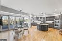 Gourmet Kitchen w/ Custom Designer Finishes - 13219 LANTERN HOLLOW DR, NORTH POTOMAC