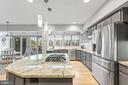 Gourmet Kitchen w/ Breakfast Room - 13219 LANTERN HOLLOW DR, NORTH POTOMAC