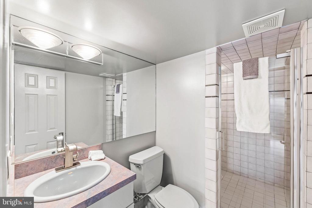 Lower Level En Suite Bathroom #2 - 13219 LANTERN HOLLOW DR, NORTH POTOMAC
