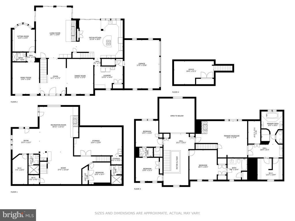 Floorplan - 13219 LANTERN HOLLOW DR, NORTH POTOMAC