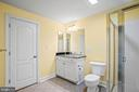 Full Bath in Finished Lower Level - 11170 GEORGES MILL RD, LOVETTSVILLE