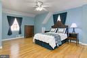 Plenty of Room in this Large Bedroom - 1201 SEATON LN, FALLS CHURCH