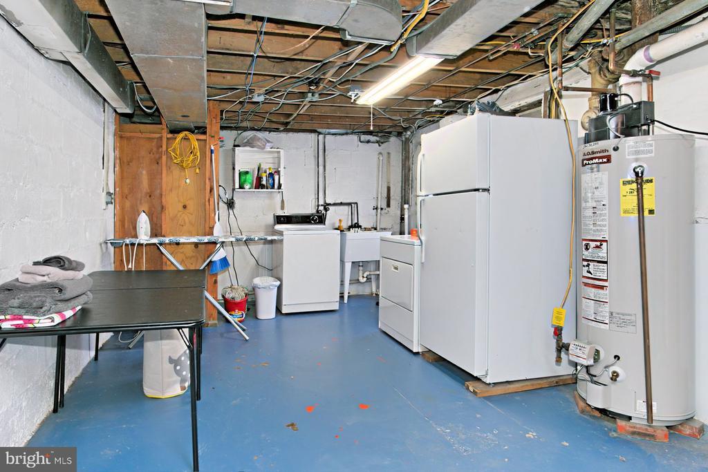 Laundry in Basement - 1201 SEATON LN, FALLS CHURCH