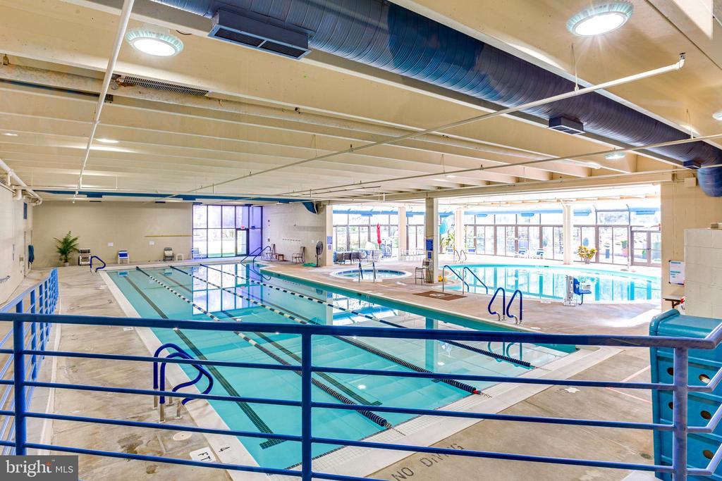 Community Indoor Pools - 3100 N LEISURE WORLD BLVD #203, SILVER SPRING