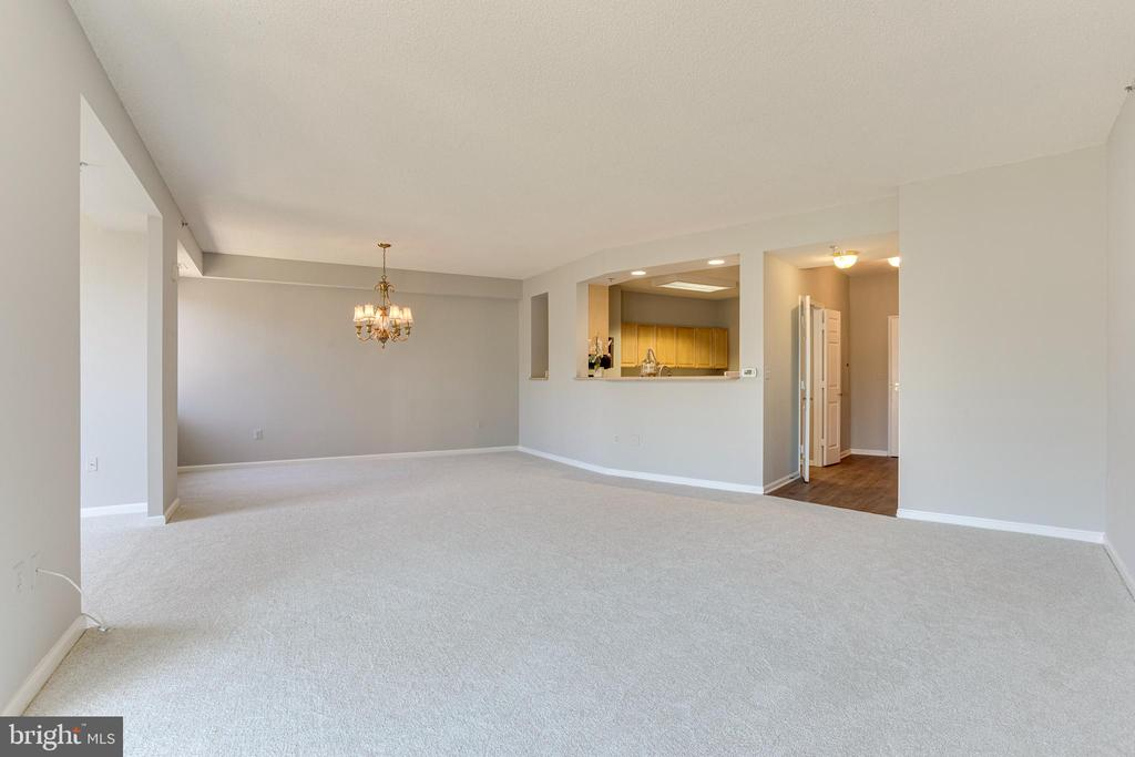 Living & Dining room - 3100 N LEISURE WORLD BLVD #203, SILVER SPRING