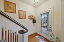 Welcoming entry foyer - 3249 38TH ST NW, WASHINGTON