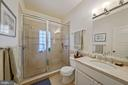 Recent en-suite owner's bath - 3249 38TH ST NW, WASHINGTON
