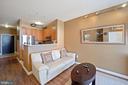 Upgraded hardwood floors throughout! - 1111 25TH ST NW #918, WASHINGTON