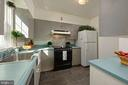 Light filled kitchen in tenant house - 21943 ST LOUIS RD, MIDDLEBURG
