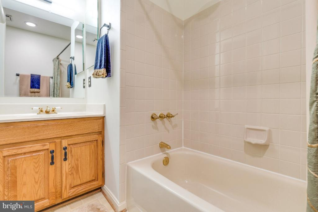 Lower level full bathroom - 5731 MASON BLUFF DR, BURKE