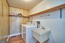 Main Level Laundry Room - 9512 BURNING BRANCH RD, BURKE