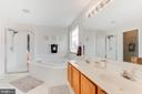 Master full bath with soaking tubs and jets - 620 SE CURTIN PL SE, LEESBURG