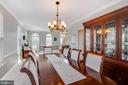 Alt view of dining room - 620 SE CURTIN PL SE, LEESBURG