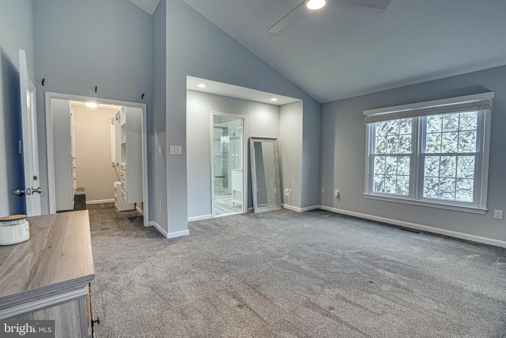 Primary Bedroom with Cherry Tree outside - 11811 GREAT OWL CIR, RESTON