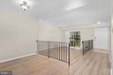 Dining area to sunken living room - 6350 FENESTRA CT #129A, BURKE